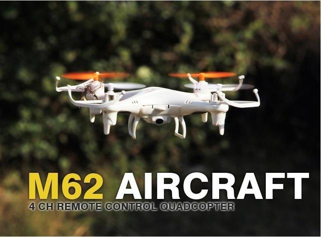 Hot Skytech M62R 2.4G 4CH 6-Axis Rc Helicóptero de Controle Remoto Brinquedos RC Drone Quadcopter Com Câmera HD Zangão