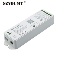 SZYOUMY YL5 WIFI Controller DC 12V 24V 5 In 1 Smart Mi Light LED Controller IOS Android APP Control DHL Free Shipping