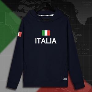 Image 3 - Italy Italia Italian ITA mens hoodie pullovers hoodies men sweatshirt new streetwear clothing Sportswear tracksuit nation flag