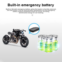 GPS Tracking Device Locator Waterproof Magnet 180mAh Battery Real Time Tracking for Cars Pets Kids XXM8