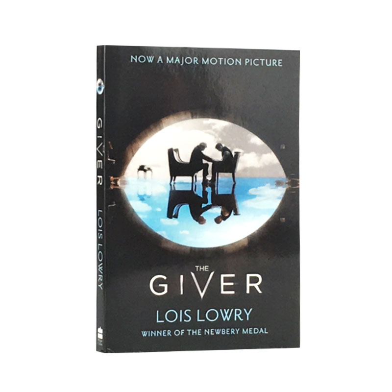 The Giver English Version New Hot selling Fiction book for Adult libros deborah halverson writing young adult fiction for dummies