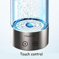 USB Portable Hydrogen Generator Ionizer For Pure H2 Rich Hydrogen Water Bottle Electrolysis Hidrogen 480ML Drink Hydrogen Water
