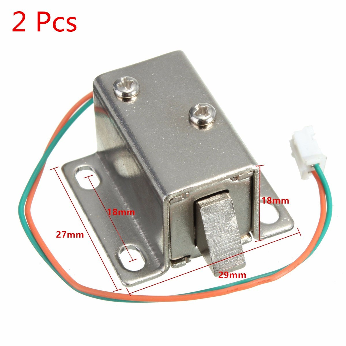 Lowest Price New Arrival Small 27x29x18mm 12VDC Cabinet Door Drawer Electric Lock Assembly Solenoid Lock Durable in Use