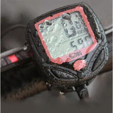 Bike Computer S548B Waterproof LCD Bicycle Computer Display Bike Odometer Speedometer 14 Functions odometer stopwatch BCP0102
