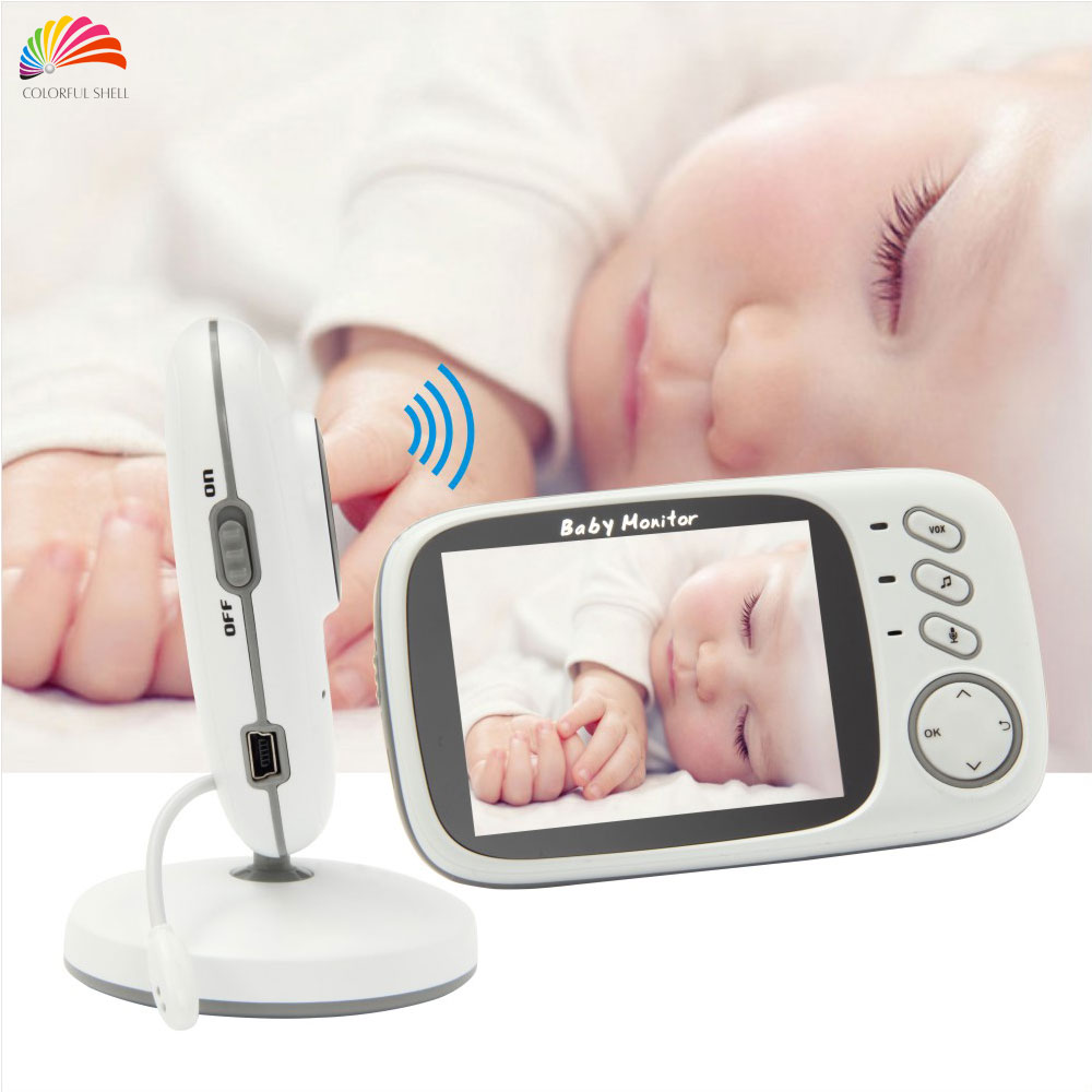 buy new 3 2 39 39 lcd wireless video baby monitor vb603 night vision babyfoon. Black Bedroom Furniture Sets. Home Design Ideas