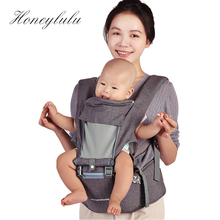 Honeylulu Breathable Fashion 3 in 1 Baby Carrier Multifunctional Ergoryukzak Sling For Newborns Kangaroo Hipsit Wrap