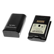 2 шт., игровой контроллер 4800 мАч, аккумулятор Ni-MH, аккумуляторная батарея для Xbox 360, Беспроводные аксессуары для игрового контроллера