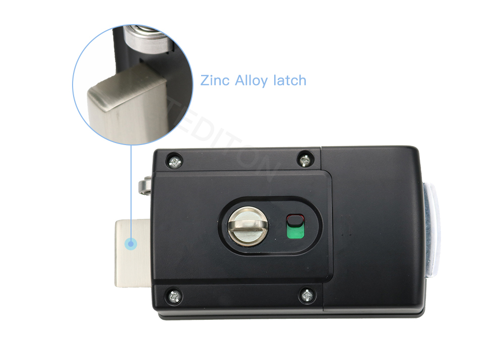 TTlock app Electronic Door Lock, Digital Door Lock Smart, Bluetooth APP Keyless Keypad Code Password Door Lock