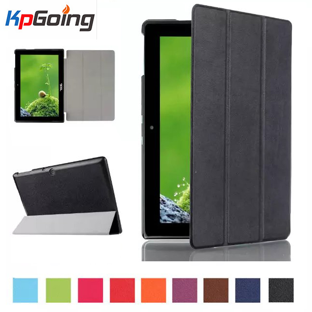 купить For Acer Iconia Tab 10 A3-A30 Leather Bag Skin 3 Folding Folio PU Leather Stand Case for Acer Iconia Tab 10 A3-A30 Tablet Cover недорого