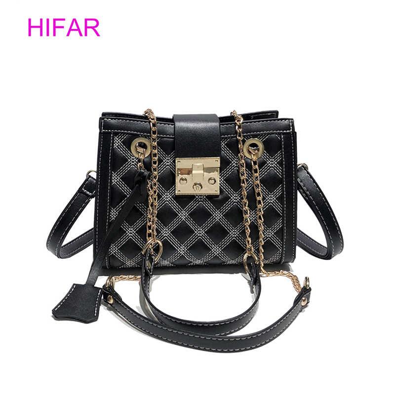 3dbdc0394729e Retro Fashion Flap Bag Crossbody Bags Women Luxury Quilted Plaid Chains  Shoulder Handbag Famous Brand Design