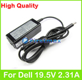 19.5V 2.31A 45W universal AC power adapter for Dell XPS 12 9250 9Q23 Convertible Ultrabook XPS12D-1501 1508 1701 1708 charger