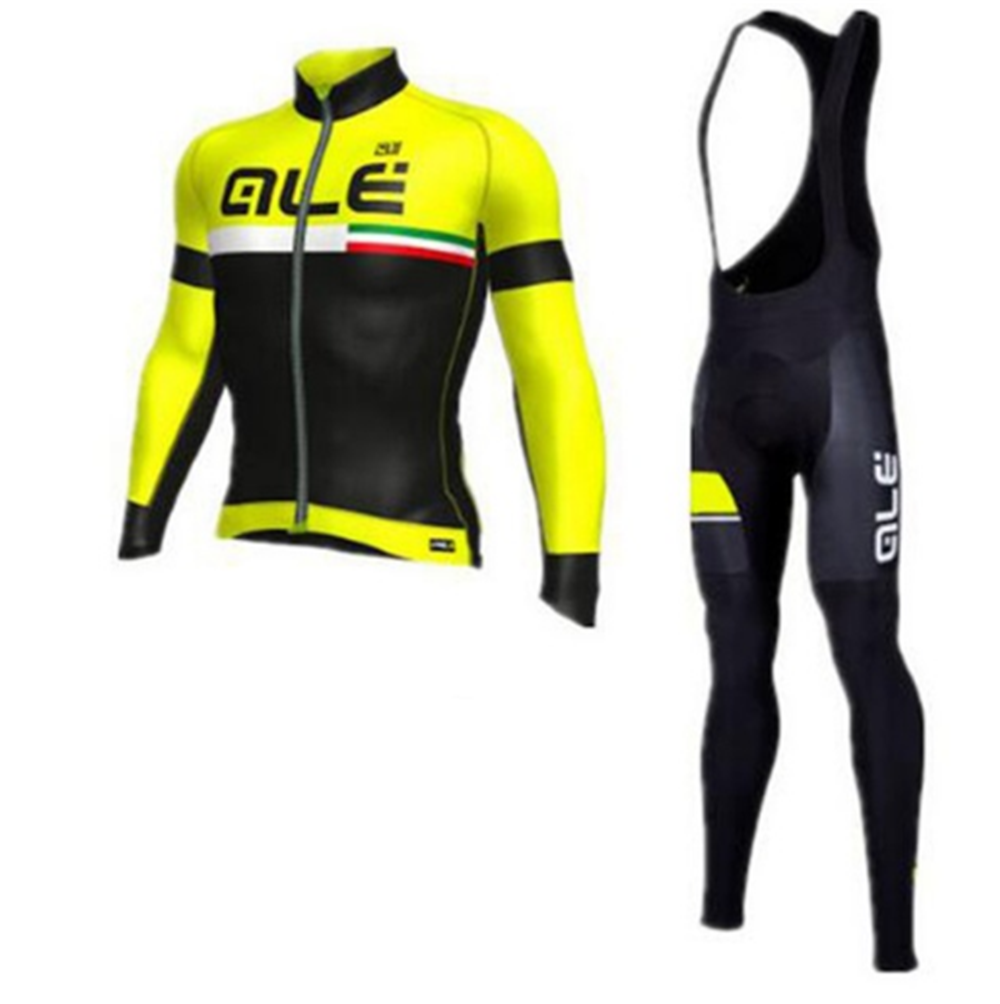 New Sportswear Tanyho ALE long Sleeve cycling jersey Pants bicycling Bicycle bike MTB Ciclismo cycle clothing Sets Suit