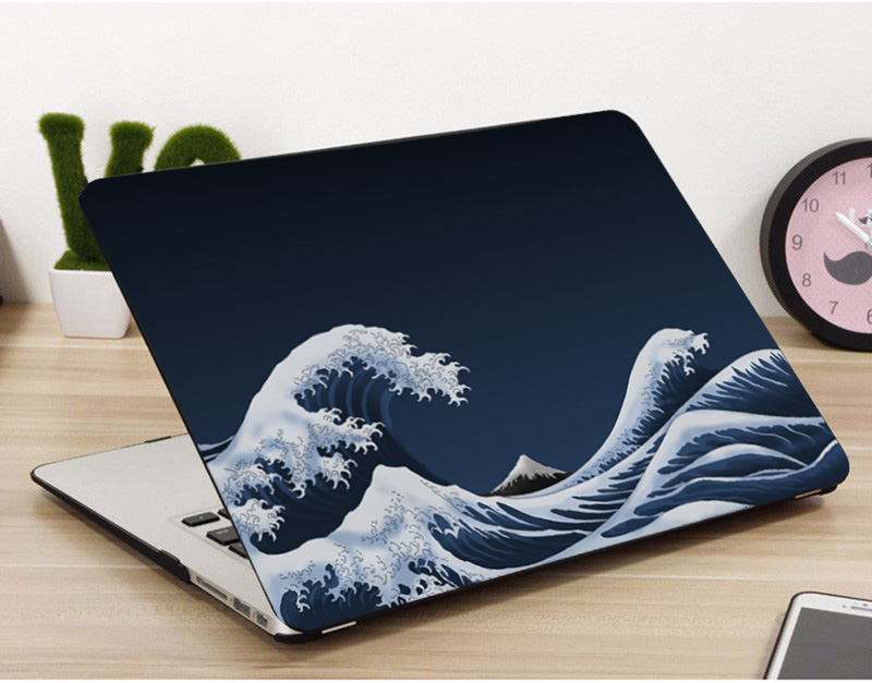 New,Sea Waves Pattern Laptop Case For <font><b>Apple</b></font> <font><b>MacBook</b></font> <font><b>Pro</b></font> Retina Air 11 12 13 <font><b>15</b></font> 16 inch,for new Air/ <font><b>Pro</b></font> A1932 A2159 <font><b>cover</b></font> shell image