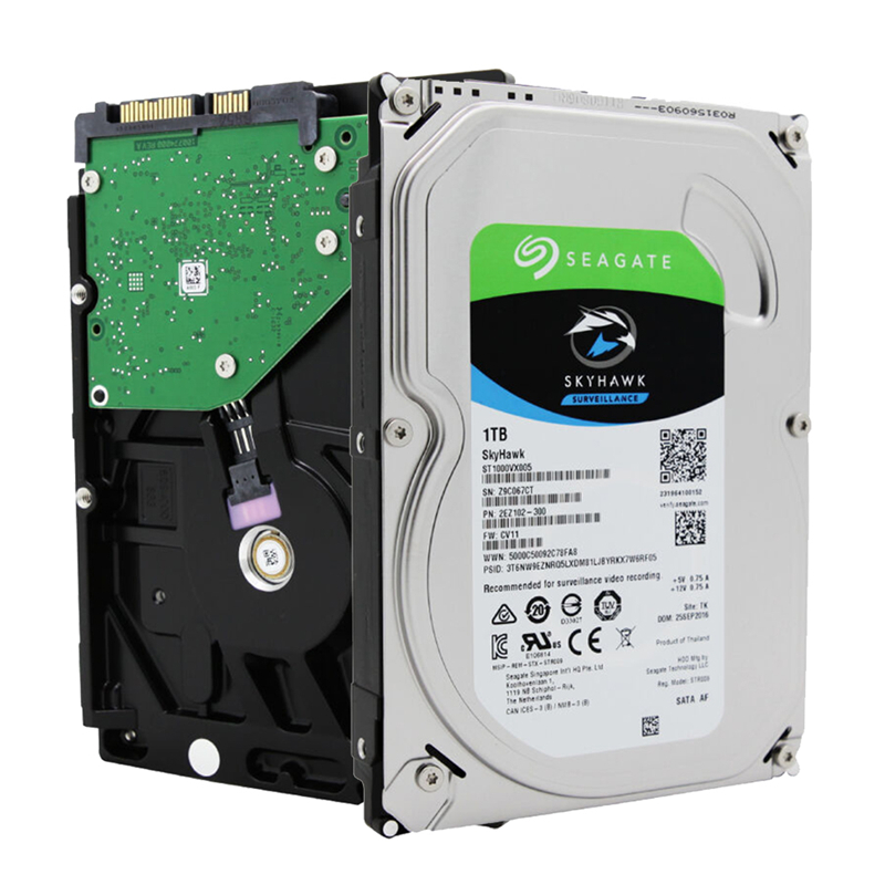 Seagate Internal HDD 1TB Video Surveillance Hard Disk Drive 3.5 hdd 1tb 5900 RPM SATA 6Gb/s 64MB Cache For Security ST1000VX005 cctv accessories 3 5 inch 1000g 1tb 7200rpm sata pc hdd surveillance hard drive disk internal hdd for dvr security system