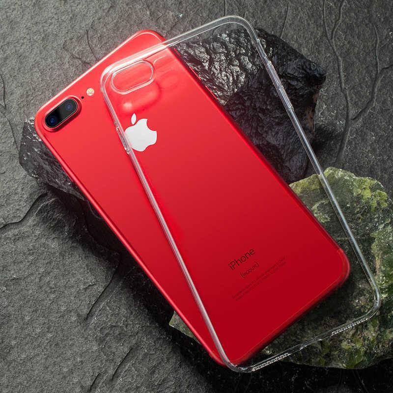 Mzxtby ברור הסיליקון רך TPU מקרה עבור iPhone 5 5S SE 7 8 6 6 s 7 8 בתוספת X XS MAX XR Ultra דק שקוף רך Tpu Case נקי