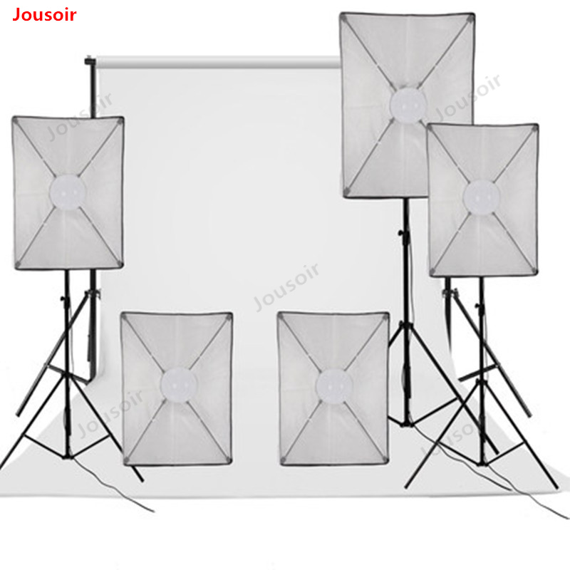 105W LED softBox Five lamp set simple small studio product shooting photo replenishment CD50 T03 105W LED softBox Five lamp set simple small studio product shooting photo replenishment CD50 T03