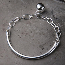 Hot Sale Fashion 925 Sterling Silver Tube Bracelet 12mm Ball Charms Women Jewelry Wholesale 10G