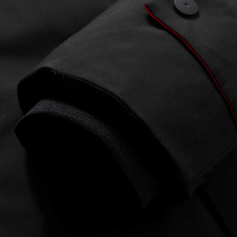 Брендовая мужская одежда, зимняя Новинка, пуховик, модный, тонкий, с капюшоном, толстый, теплый, белый утиный пух, длинное пальто и парка для мужчин, 5XL, 6XL