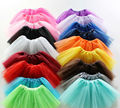 Wholesale Multi Colored Tutu Children Petticoat Cheap In Stock Crinoline Kids Tulle Girls Kids Wedding Accessories Free Shipping