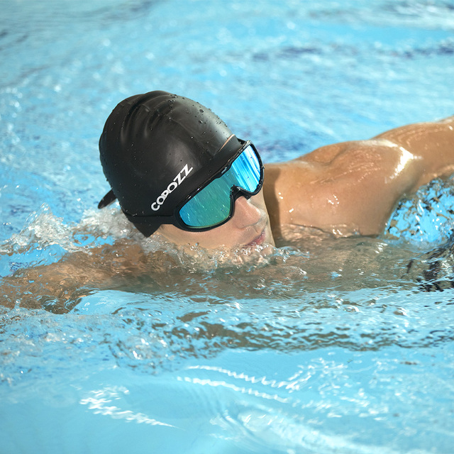 Comfortable Large Frame Swimming Goggles