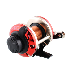 Right Handed-Round Bait Casting Fishing Reel Saltwater Trolling Reels Trolling Carp Ice Fishing Reel