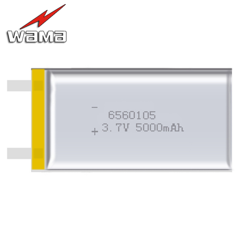2x Wama 6560105 5000mAh Li ion 3 7V Rechargeable Battery Lithium Polymer font b Backup b