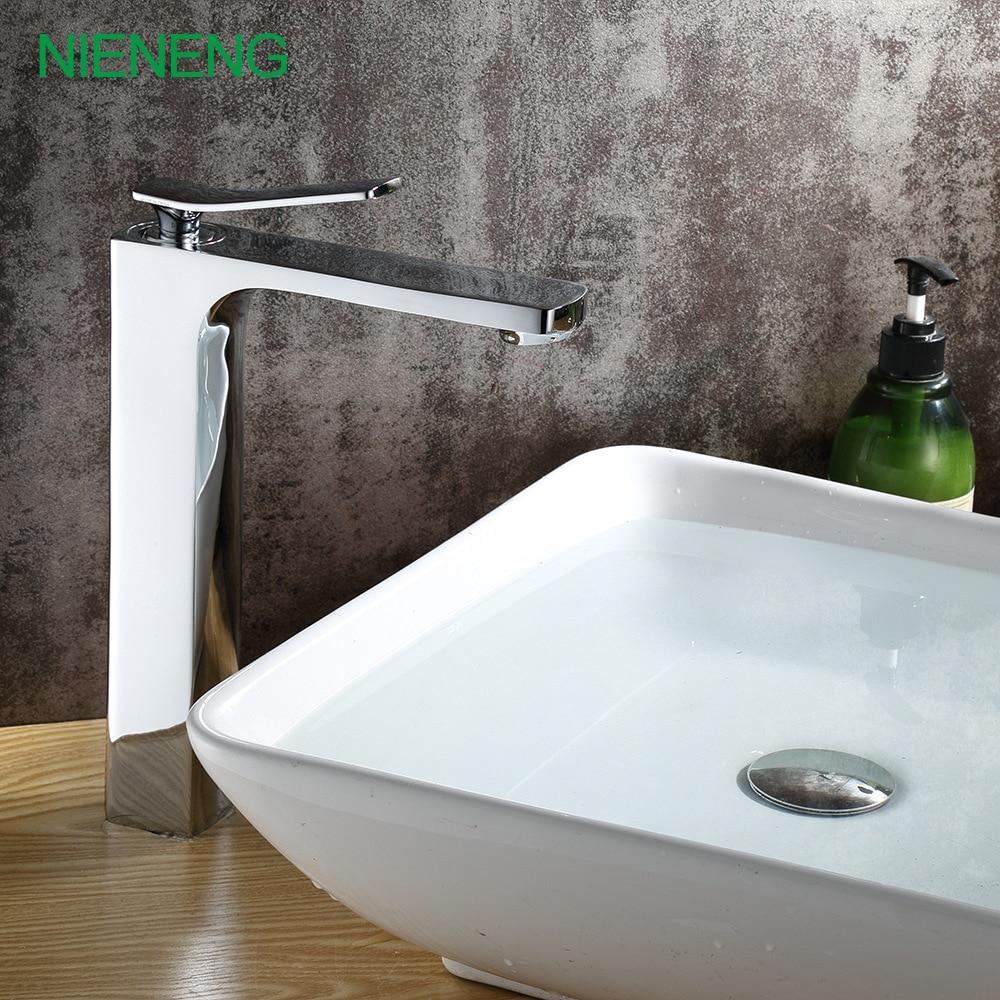 Nieneng Faucet Copper Brand Faucets New Faucet Basin Lavatory Taps Bathroom Mixer Sink Tap Home Decoration