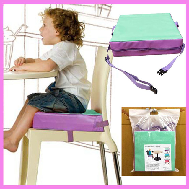 Genial Baby Children Eatting Chair Booster Cushion Adjustable Detachable High  Density Sponge Highchair Safety Booster Seat Portable