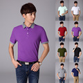 Brand Fashion Mens Polo Shirts Cotton Men Leisure Short Sleeve Turndown Collar Shirt Mens Clothing Casual Polos Shirt