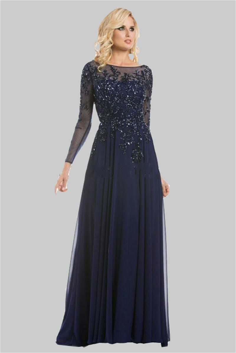 Mother Of The Bride Outfits 2016: 2016 Fashionable Appliqued Mother Of The Bride Dress