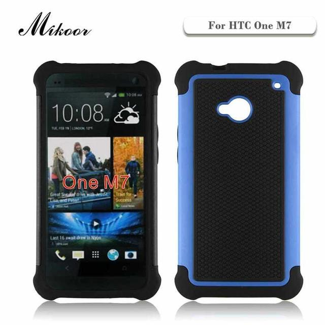 Mikoor Heavy Duty Противоударный Защита Стенд 4.7For HTC One M7 Case Для HTC One M7 Сотовый Телефон Case Cover