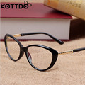 KOTTDO Retro ojo De gato gafas marco gafas ópticas prescripción hombres gafas monturas Oculos De Grau Feminino Armacao