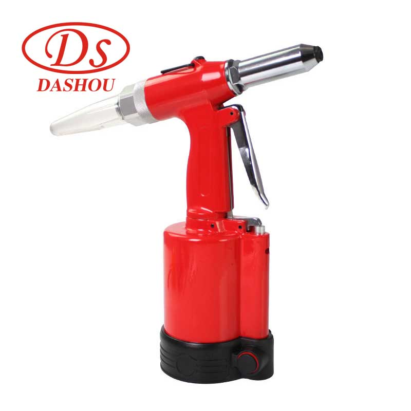 DS Pneumatic Rivet Guns Polished Pen Air Rivet Gun Kit 706A Powerful Riveting Tool Set Pneumatic Riveting Gun