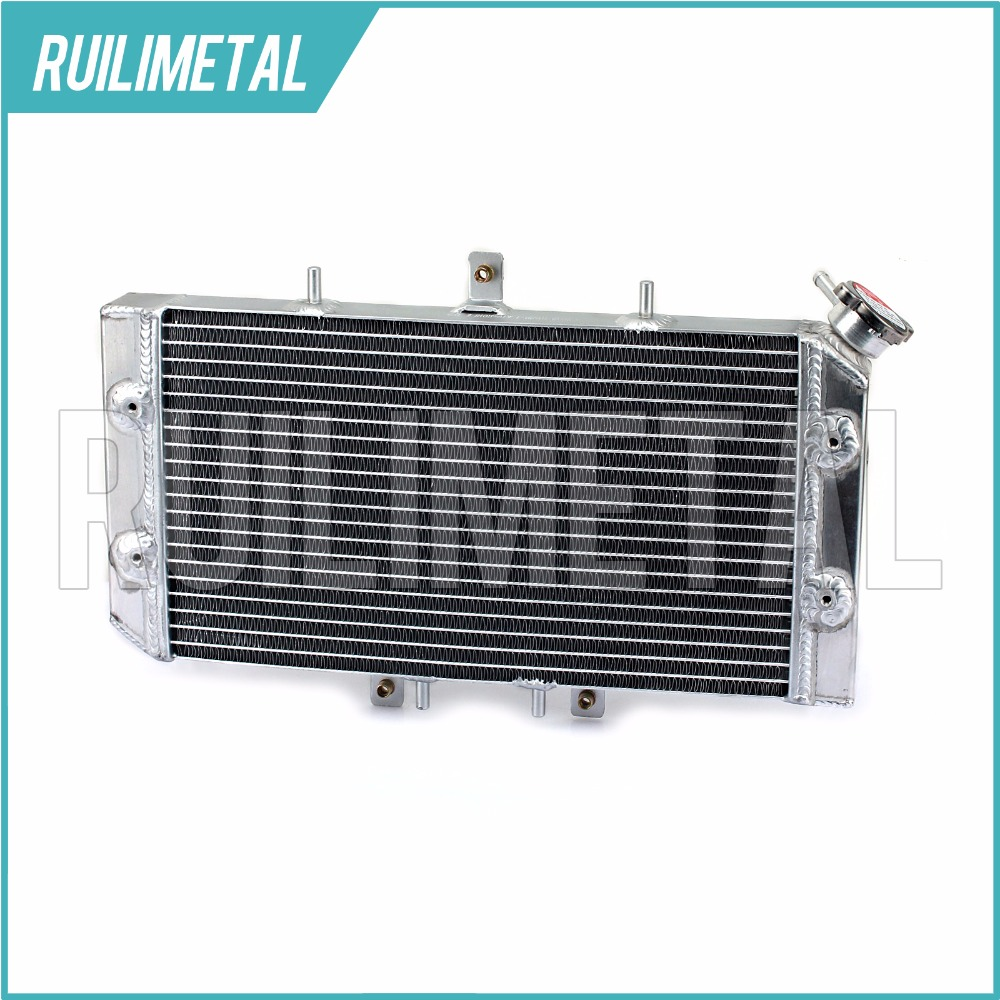 New Aluminium Core ATV Quad Dirt Bike Radiator for Outlaw 450S 2008 Outlaw 450 MXR 09-10 Outlaw 525 S 08-10 Outlaw 525 IRS 08-11