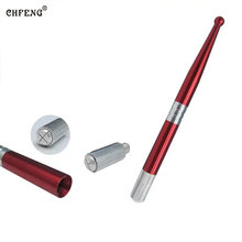 Tattoo Microblading pen 1PCS Optional Silver and Red Tebori Pen Manual Tattoo Pen Machine for Permanent Makeup Pen Eyebrow(China)