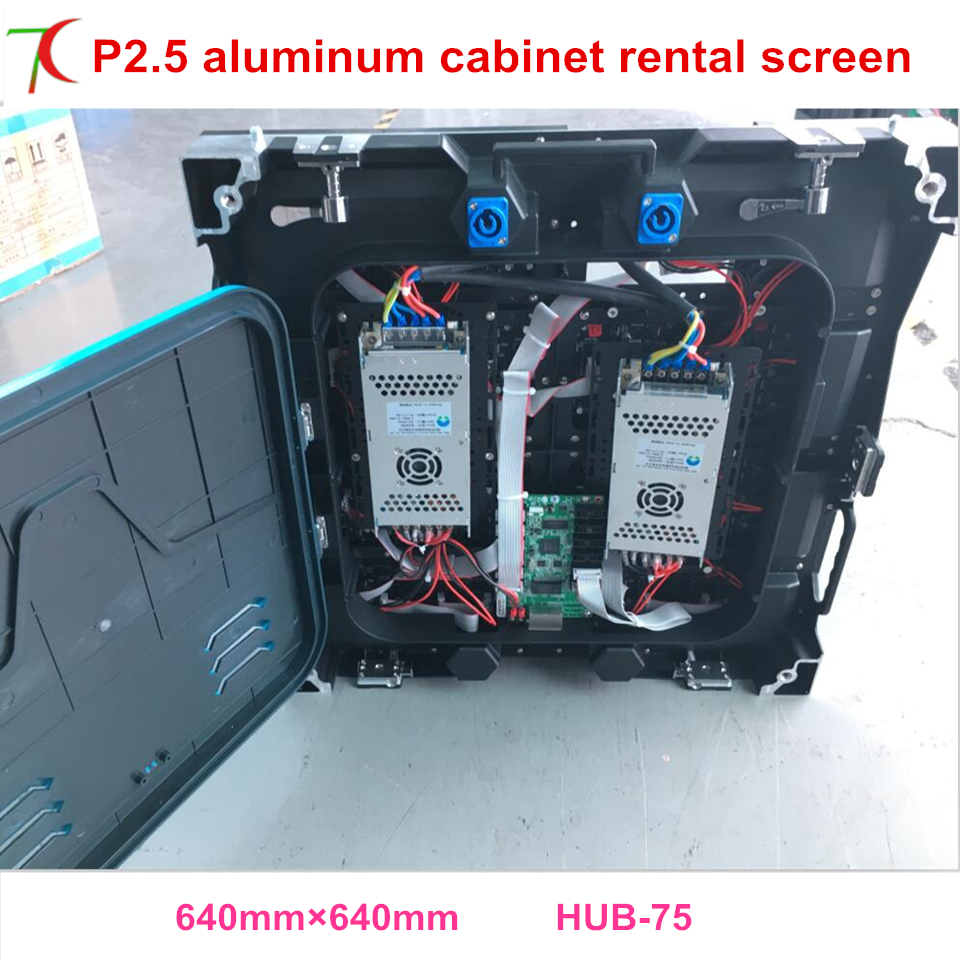 Cost-effective P2.5 Indoor 640*640mm 32scan Die-casting Aluminum Cabinet For Hd Real Led Display,1800cd