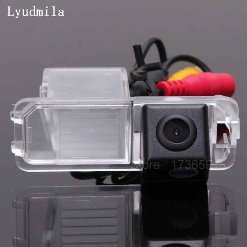 Ммила для Volkswagen Crosspolo/Skoda Yeti 2014 Камера заднего вида/HD CCD RCA NTST PAL/лампа номерного знака OEM