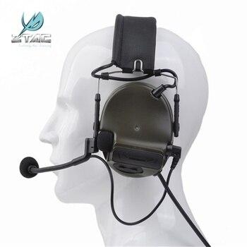 Z Tactical Softair Aviation Comtac III Peltor Headset Military Pickup Noise Reduction Earphone Ztac Airsoft Headphone Z051