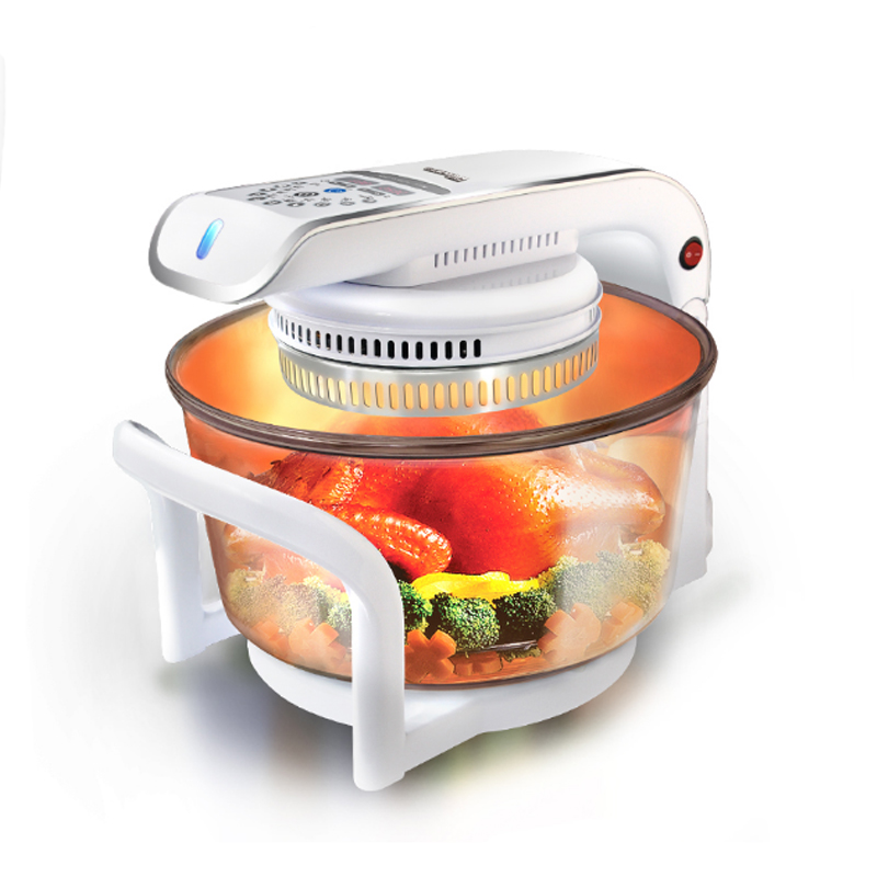 multifunctional microwave oven frying pan halogen oven air fryer lightwave fryer automatic cooker CKY-888 1400w 2 8l fryer air oven electric scamper oven household fryer grill grease free cooker smokeless hot air fryer eu plug