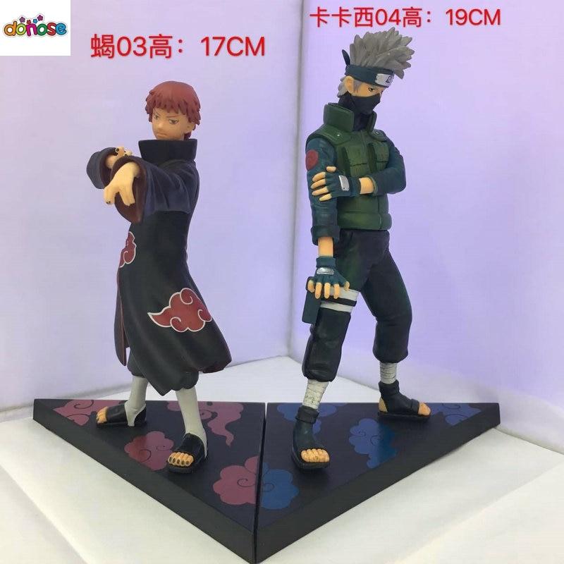 Uchiha Itachi 17CM 1//10 Scale Naruto Shippuuden PVC Figure IN Box