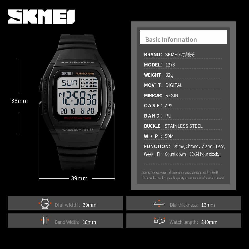 4d4d667b8 ... SKMEI Luxury Brand Men Analog Digital Sport Watches Men s Army Military  Watch Man Digital Watch Relogio