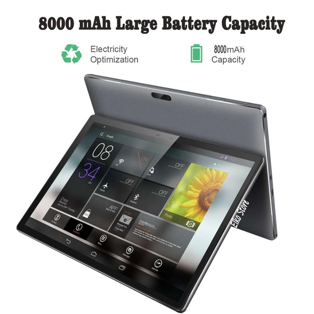 DHL 送料 10 インチタブレット PC 4G LTE デカコア 4 ギガバイトの RAM 128 ギガバイト ROM 1920*1200 Ips アンドロイド 7.0 GPS 錠 10 で 10.1 + キーボードロシア  グループ上の パソコン & オフィス からの Android タブレット の中 1