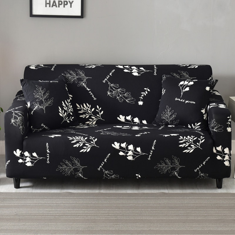 Elastic Stretchable Sofa Covers for Single to 4 Seated Sectional Sofas in Living Room 10