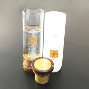 Image 5 - Przenośny generator wody hydrogenicznej szklana butelka MRETOH dwa w jednym H2 DuPont N117 jonowa membrana poprawia sen poprawia odporność
