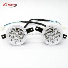 1Pair 2pcs LED Front Light of Jinling 110cc 150cc 200cc ATV Quad Bike JLA 13T 2