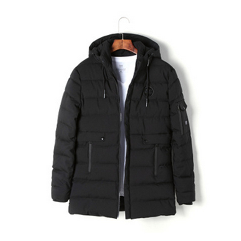 Pinkwin 2017 New Fashion Brand Clothing Parka Men Thick Down Jacket Men Coat  Winter Jacket  Winter Parka