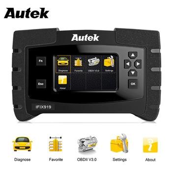 OBD2 Automotive Scanner Autek IFIX919 Full System Car Diagnostic Tool engine ABS Airbag SAS Transmission Auto Diagnostic Scanner цена 2017