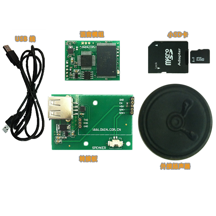 Serial Voice Module Evaluation Board, EKT1G08A