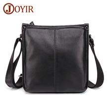JOYIR Genuine Leather Men's Messenger Bag Fashion Shoulder Bag Casual Simple Men Fashion Small Male Crossbody Bags Handbags