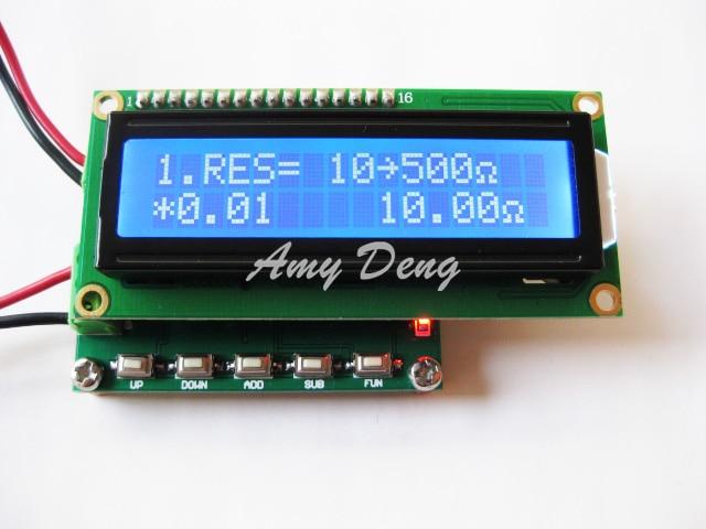 RTD resistance calibrator signal generator pulse generator 10 500 ohm